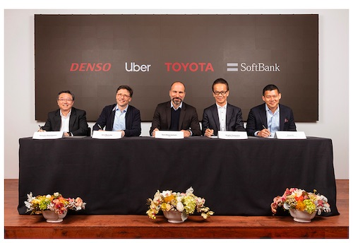 Toyota, DENSO and SoftBank Vision Fund to Invest $1 Billion in Uber s Advanced Technologies Group