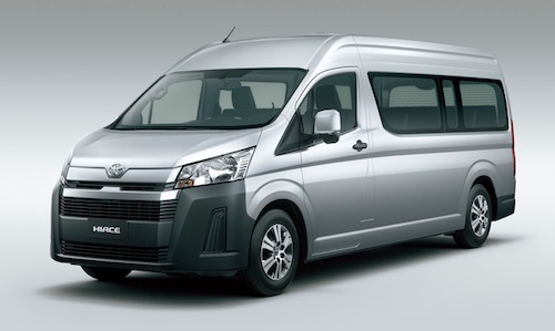 Toyota s New Hiace Series for Overseas Markets Debuts in Philippines