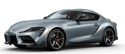 Toyota Premieres New Supra at Detroit Auto Show