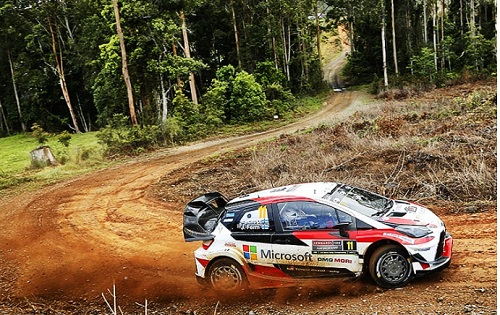 Strong Performance of Toyota Yaris WRC Goes Unrewarded in Australia
