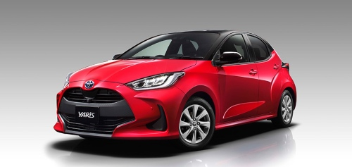 Toyota s New Model Yaris Makes World Premiere
